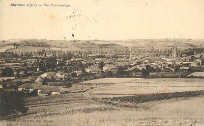 """CPA FRANCE 32 """"Marciac, vue panoramique"""""""