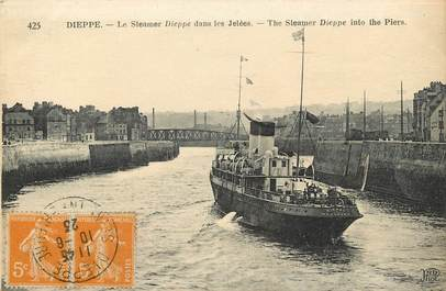 "CPA FRANCE 76 ""Dieppe, le Steamer"""