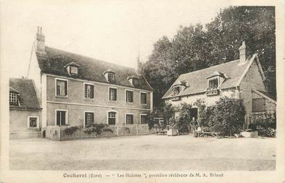 "/ CPA FRANCE 27 "" Cocherel, les Hulotes"""