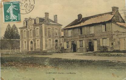"/ CPA FRANCE 27 ""Campigny, la mairie"""