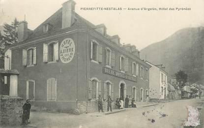 """CPA FRANCE 65 """"Pierrefitte Nestalas, avenue d'Argelés, Hotel des Pyrénées"""""""
