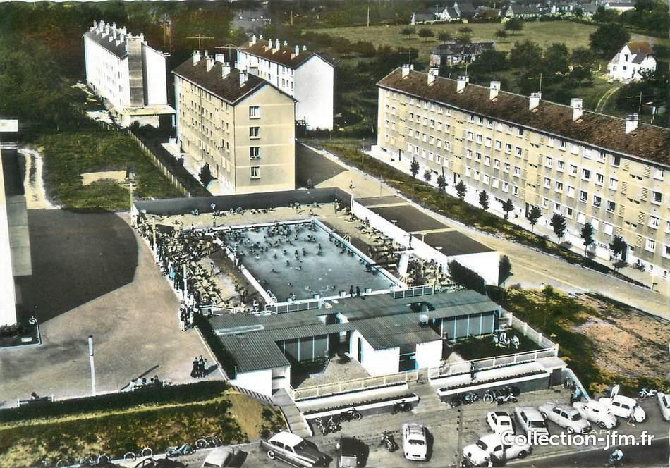 Cpsm france 76 yvetot la piscine 76 seine maritime for Piscine yvetot