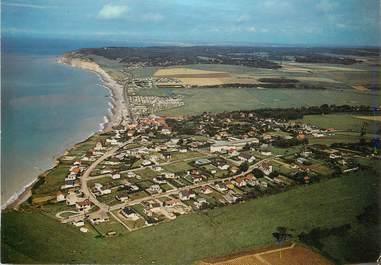 "/ CPSM FRANCE 76 ""Quiberville, la plage"" / CAMPING"