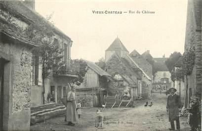 "CPA FRANCE 89 ""Vieux Chateau, rue du Château"""
