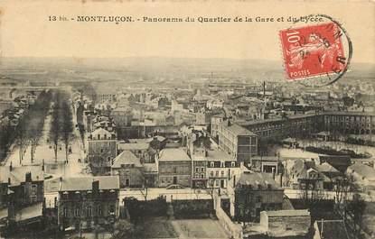 """CPA FRANCE 03 """"Montluçon, quartier de la gare"""""""