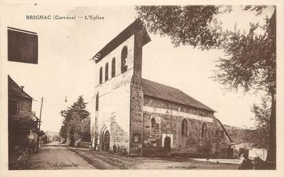 """/ CPA FRANCE 19 """"Brignac, l'église"""""""