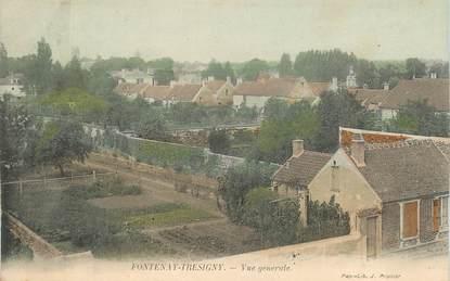 "CPA FRANCE 77 ""Fontenay Trésigny, vue générale"""