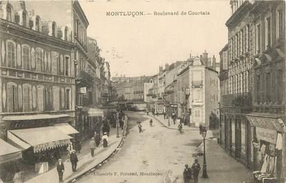 "CPA FRANCE 03 ""Montluçon, bld de courtais"""