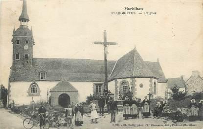 """/ CPA FRANCE 56 """"Pleugriffet, l'église"""""""
