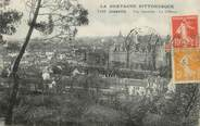 """56 Morbihan / CPA FRANCE 56 """"Josselin, vue générale, le château"""""""