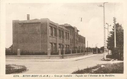 """CPA FRANCE 77 """"Mitry Mory, groupe scolaire"""""""
