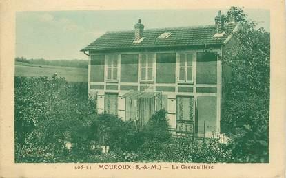 "CPA FRANCE 77 ""Mouroux, la Grenouillère"""