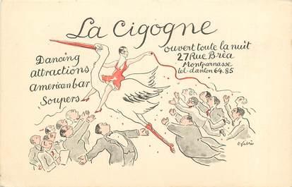 """CPA  """"Paris, XIV ème, La Cigogne à Montparnasse"""""""