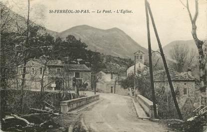 """CPA FRANCE 31 """"Saint Ferréol, le port et l'Eglise """""""