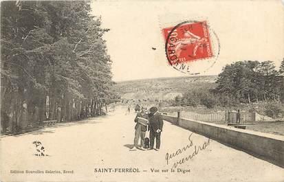 """CPA FRANCE 31 """"Saint Ferréol, vue sur la digue"""""""
