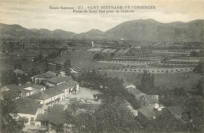 """CPA FRANCE 31 """"Saint Bertrand de Comminges, Plaine de Saint Just"""""""
