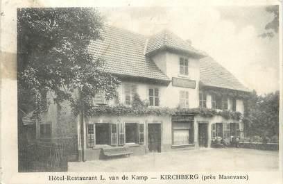 "/ CPA FRANCE 68 ""Kirschberg, hôtel restaurant L Van de Kamp"""
