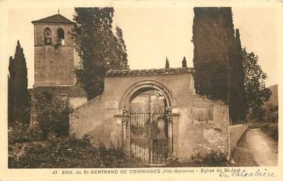 """CPA FRANCE 31 """"Env. de Saint Bertrand de Comminges, Eglise de Saint Just"""""""