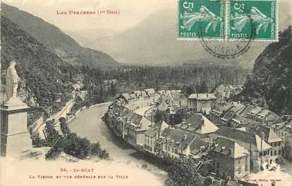"""CPA FRANCE 31 """"Saint Béat, vue générale sur la ville"""""""
