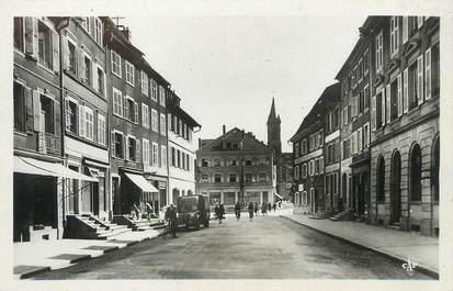 "/ CPSM FRANCE 68 ""Altkirch, grande rue"""