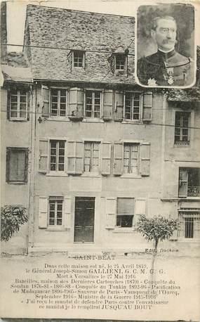 """CPA FRANCE 31 """"Saint Béat, maison du général Joseph Simon Galliéni"""""""