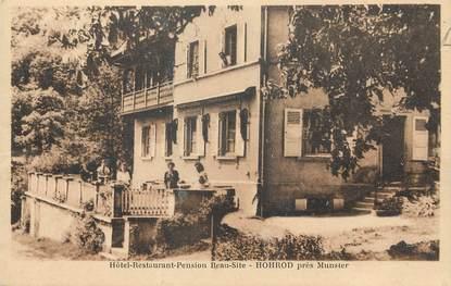 """/ CPA FRANCE 68 """"Hohrod, hôtel restaurant pension Beau Site"""""""