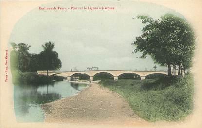 """CPA FRANCE 42 """"Pont sur Lignon à Naconne"""""""