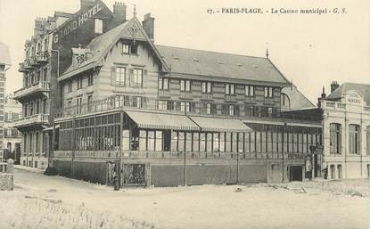 "CPSM FRANCE 62 ""le Touquet Paris Plage, le casino municipal"""