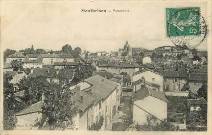 """CPA FRANCE 42 """"Montbrison, panorama"""""""