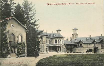 """CPA FRANCE 42 """"Montrond les Bains, le Château de Sourcieux"""""""