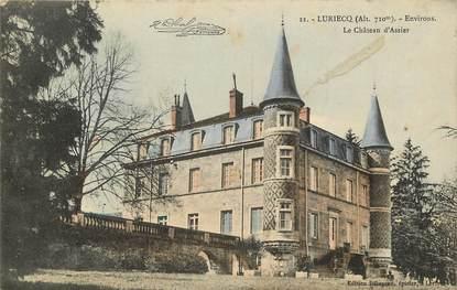 """CPA FRANCE 42 """"Luriecq, le château d'Assier"""""""