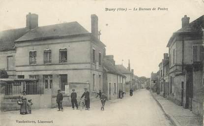 """/ CPA FRANCE 60 """"Bury, le bureau de postes"""""""