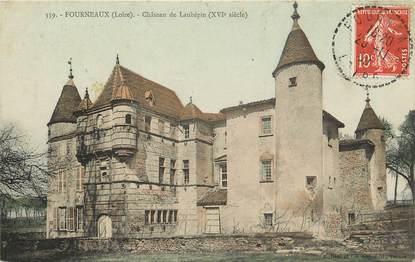 """CPA FRANCE 42 """"Fourneaux, Château de Laubépin"""""""