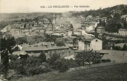 """CPA FRANCE 42 """"La Fouillouse, vue générale"""""""