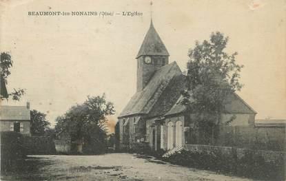 """/ CPA FRANCE 60 """"Beaumont Les Nonains, l'église"""""""