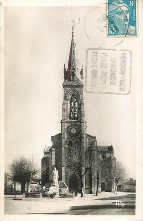 """CPSM FRANCE 33 """"Le Verdon, l'Eglise"""""""