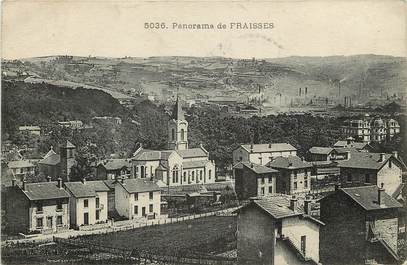 """CPA FRANCE 42 """"Fraisses, panorama"""""""