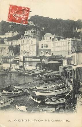 """CPA FRANCE 13 """"Marseille, un coin de la Corniche"""""""