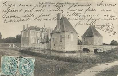 """/ CPA FRANCE 27 """"La Barre, château de Bois Anzeray"""""""