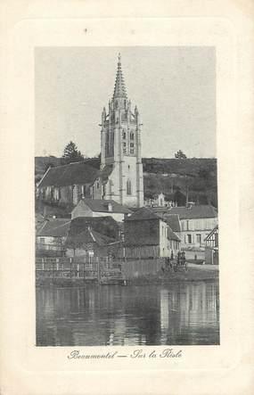 """/ CPA FRANCE 27 """"Beaumontel, sur la Risle"""""""