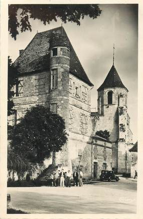 """CPSM FRANCE 24 """"Issigeac, Eglise et chateau"""""""