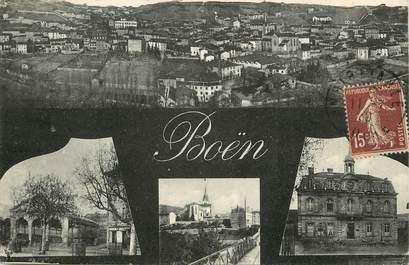 """CPA FRANCE 42  """"Boën"""" / vues de la commune"""