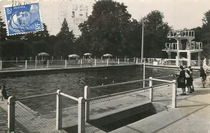 """/ CPSM FRANCE 28 """"Châteauneuf en Thimerais, la piscine municipale"""""""