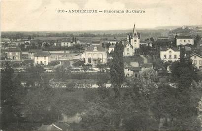 "CPA FRANCE 42  ""Andrézieux, panorama du centre"""