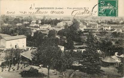 """CPA FRANCE 42  """"Andrézieux, vue générale"""""""