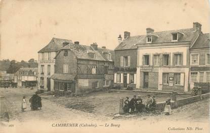 """CPA FRANCE 14 """"Cambremer, le Bourg"""""""