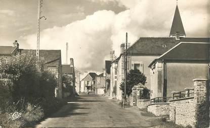 """CPSM FRANCE 14 """"Anctoville, rte de  Bayeux"""""""