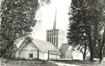 """CPSM FRANCE 14 """"Bretteville sur Laize, l'Eglise Notre Dame de la Visitation"""""""