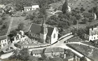 """CPSM FRANCE 14 """"La Chapelle yvon, l'Eglise"""""""