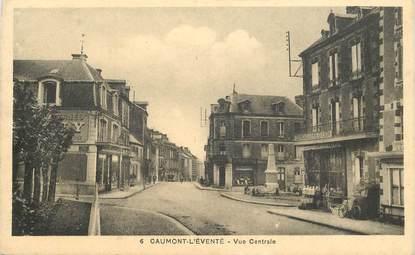 """CPA FRANCE 14 """"Caumont l'Eventé, vue centrale"""""""